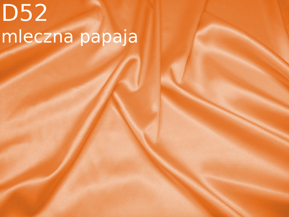 Tkanina jedwabna satyna elastyczna w kolorze zoltym