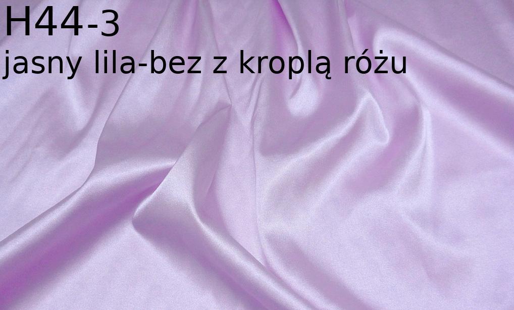 Tkanina jedwabna satyna elastyczna w kolorze fioletowym