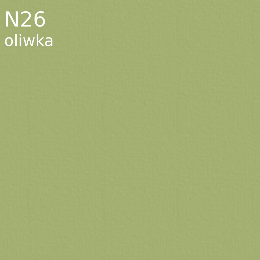 Tkanina jedwabna satyna w kolorze oliwkowym