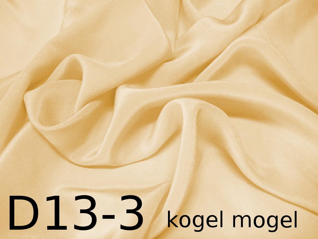 Tkanina jedwabna krepa w kolorze żółtym