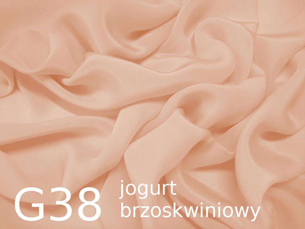 Tkanina jedwabna krepa w kolorze różowym