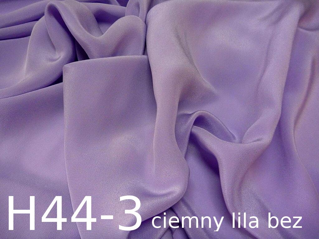 Tkanina jedwabna krepa w kolorze fioletowym