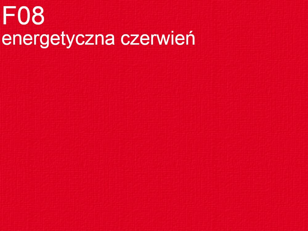 Tkanina jedwabna krepa w kolorze czerwonym