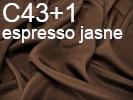 Tkanina jedwabna krepa  espresso