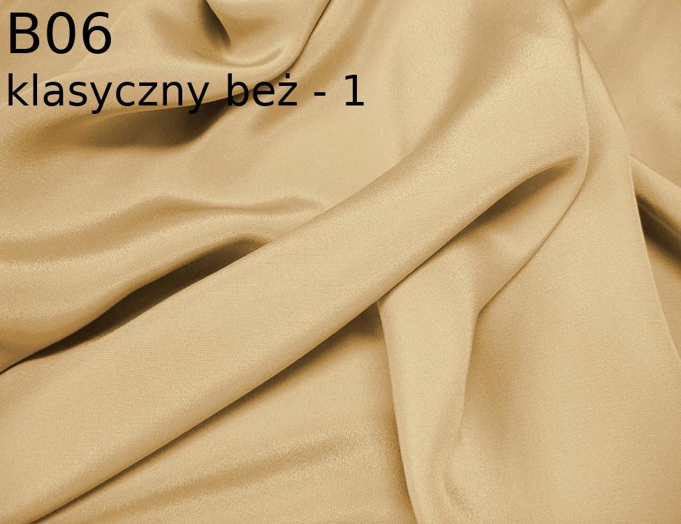 Tkanina jedwabna krepa w kolorze beżowym