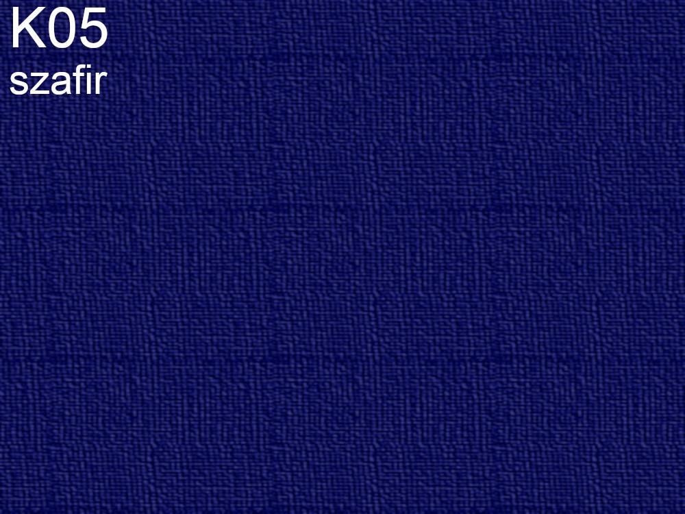 Tkanina jedwabna habotai w kolorze niebieskim