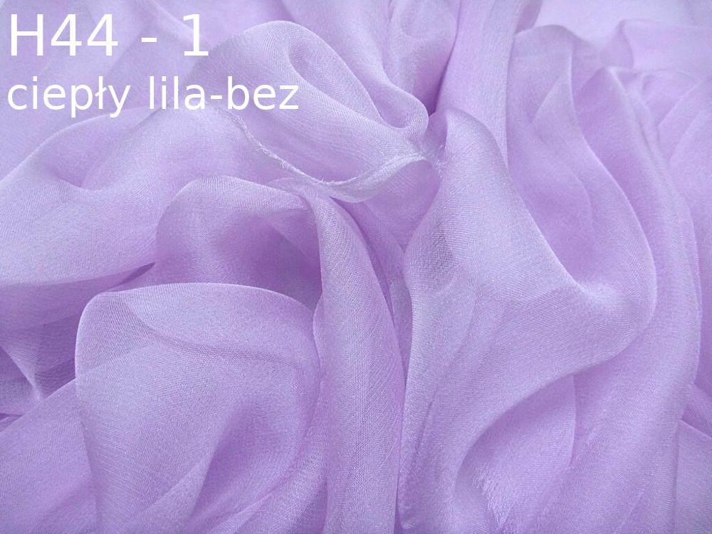 Tkanina jedwabna szyfon w kolorze fioletowym