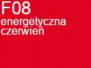 Tkanina jedwabna żorżeta energetyczna czerwień