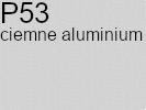 Tkanina jedwabna żorżeta ciemne aluminium