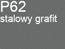 Tkanina jedwabna żorżeta stalowy grafit