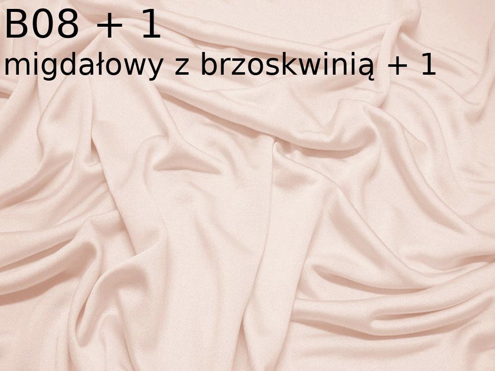 Dzianina jedwabna jersey w kolorze beżowym